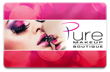 Pure Makeup Boutique Physical Gift Card